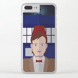 The 11th Doctor Clear iPhone Case