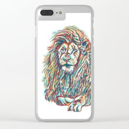 King of the Pride Clear iPhone Case