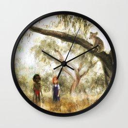 Canvas prints childrens bedrooms - Australia Wall Clock
