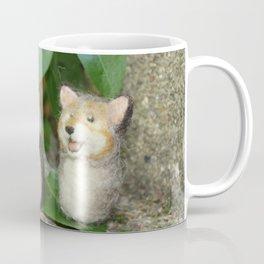 Felted Animal Miniatures Coffee Mug