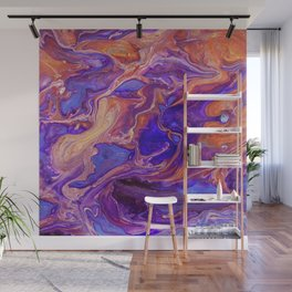 Fluid Color Wall Mural