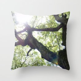 Earth beat Throw Pillow