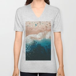 Bronte Beach | Aerial Photography  Unisex V-Neck