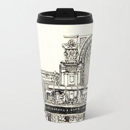 Old school cafe Travel Mug