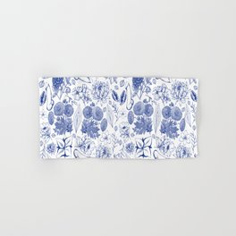 Naughty Toile de Jouy (blue) Hand & Bath Towel