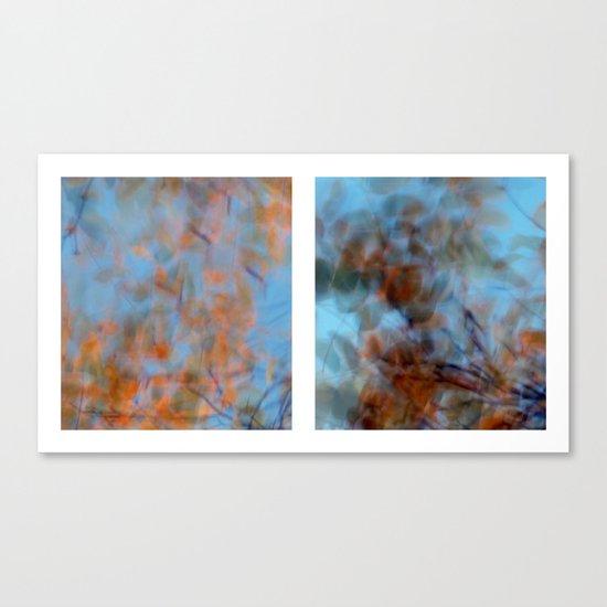 Autumn Impressions #1 - Diptych Canvas Print