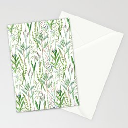 herbal pattern Stationery Cards