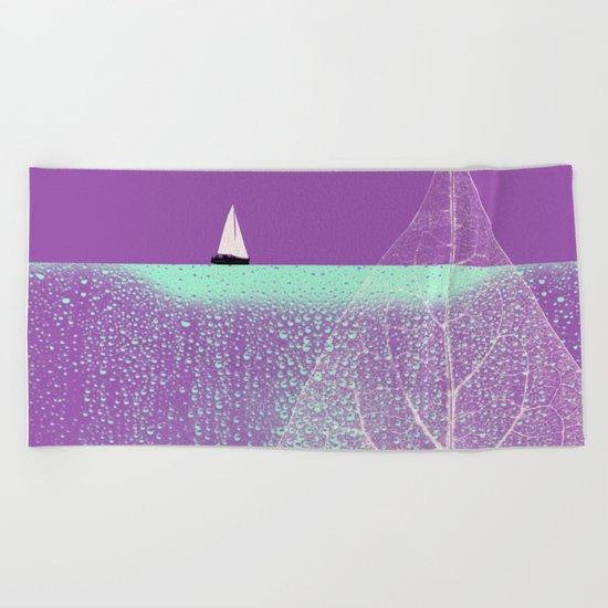 Ocean Wonderland I Beach Towel