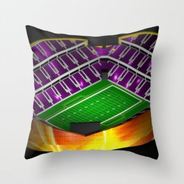 The Metropolitan Throw Pillow