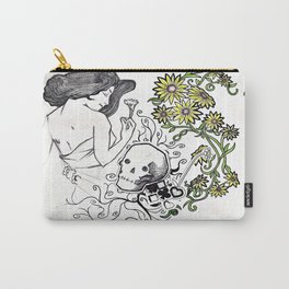 Flowers Figure Carry-All Pouch