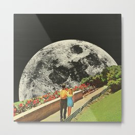 Moonwalk love Metal Print