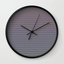 Pixelated Wall Clock