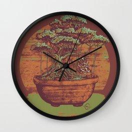Bonsai Roach Swing Wall Clock