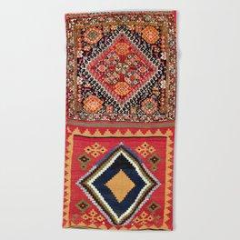 Qashqa'i Nomad Fars Southwest Persian Bag Print Beach Towel