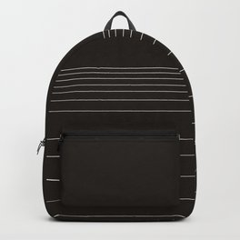 Calm water Lake Moon Minimal Backpack
