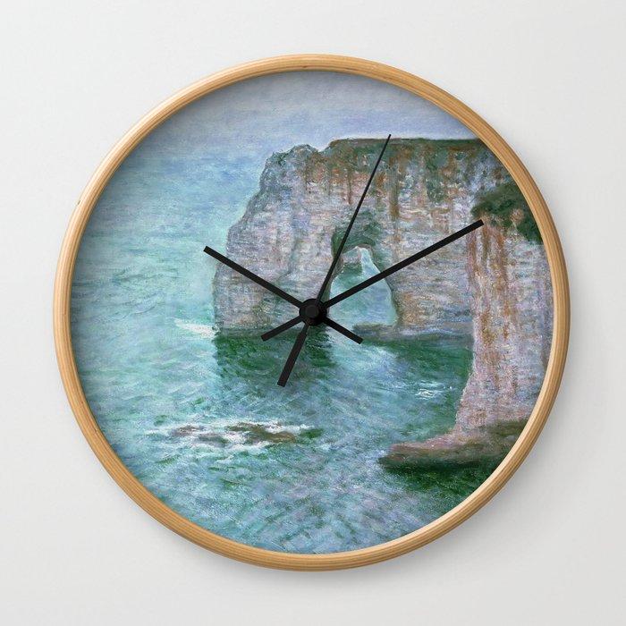 Claude Monet, French, 1840-1926 Manne-Porte, Etretat Wall Clock