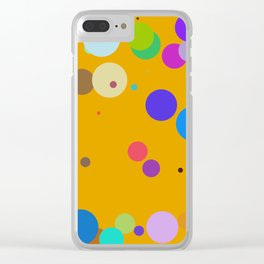 Circles #5 - 03102017 Clear iPhone Case