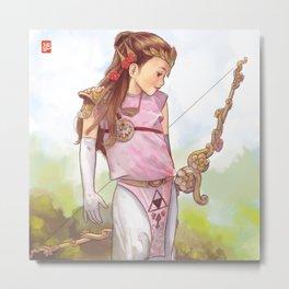 Zelda Metal Print