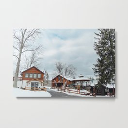 Welcome to Camp Metal Print