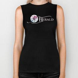 The Herald Logo Biker Tank