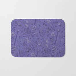 Inventory in Purple Bath Mat