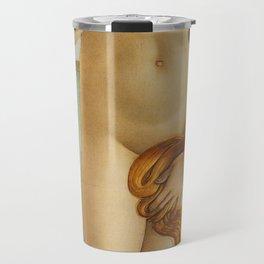 The Birth of Venus detail Travel Mug