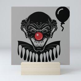 Not so nice clown Mini Art Print