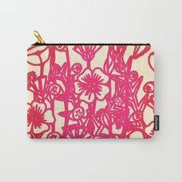 electric flower Carry-All Pouch