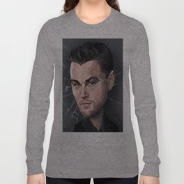 DiCaprio Caricature Long Sleeve T-shirt