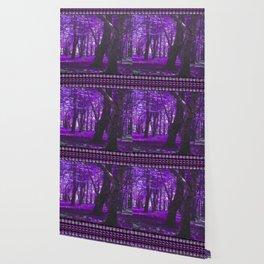 Purple Forest III Wallpaper