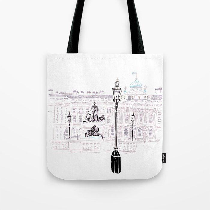 Somerset House, London Tote Bag