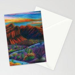 Sonoran Desert Landscpae Stationery Cards