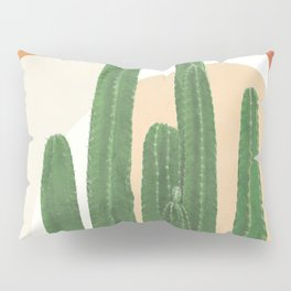 Abstract Cactus I Pillow Sham