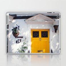 The Perfect Yellow Door Laptop & iPad Skin