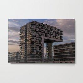Kranhaus Metal Print