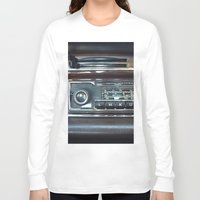 mercedes Long Sleeve T-shirts featuring Vintage Radio Becker Europa by Premium