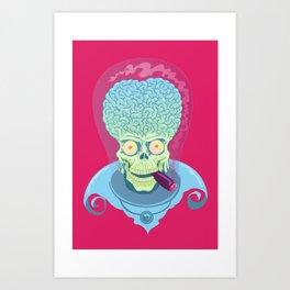Mars Attacks Art Print