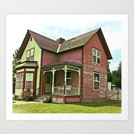 The DollHouse Art Print