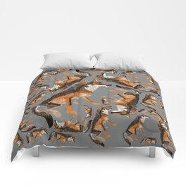 Totem Iberian wolf Comforters