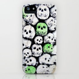 SKULL, by Ludo iPhone Case