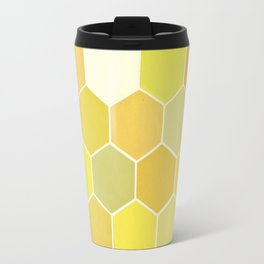 Shades of Yellow Travel Mug