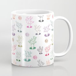 Cacti under the moon Coffee Mug