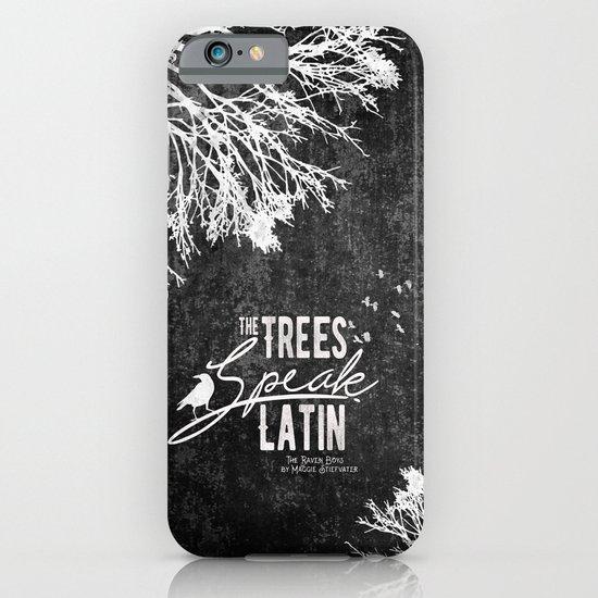 The Trees Speak Latin - Raven Boys iPhone & iPod Case