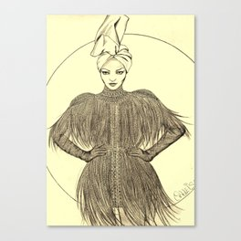 Gaultier by Caleis Canvas Print