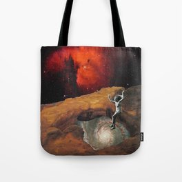 Alice at the Well Tote Bag