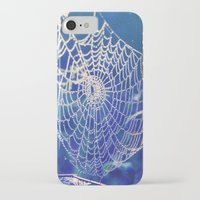 dreamcatcher iPhone & iPod Cases featuring dreamcatcher by Luiza Lazar