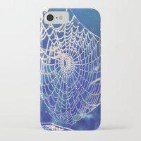 dreamcatcher iPhone & iPod Cases featuring dreamcatcher by Luiza Lazar