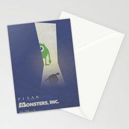 Monsters Inc. Walt Disney Alternative Movie Poster Stationery Cards