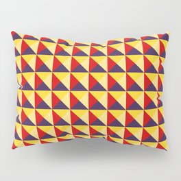 Abstract Triangle Pattern - Colorway #1 Pillow Sham