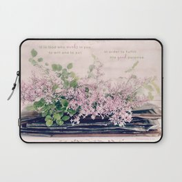 Lilac Stack* Laptop Sleeve